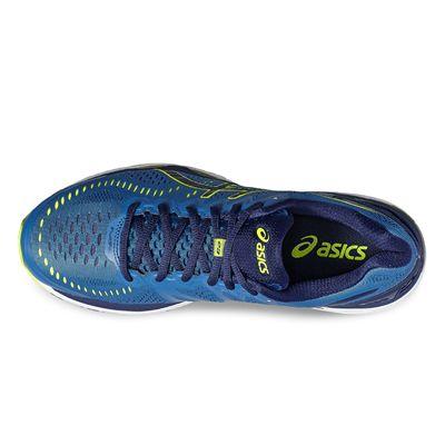 Asics Gel-Kayano 23 Mens Running Shoes-blue-top