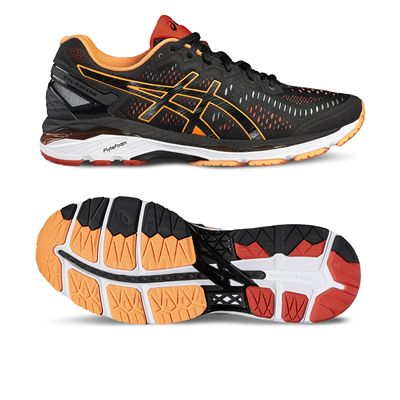 Asics Gel-Kayano 23 Mens Running Shoes-orange-main