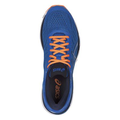 Asics Gel-Kayano 24 Mens Running Shoes - Blue - Above