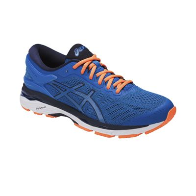 Asics Gel-Kayano 24 Mens Running Shoes - Blue - Angled