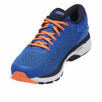 Asics Gel-Kayano 24 Mens Running Shoes - Blue - Angled2