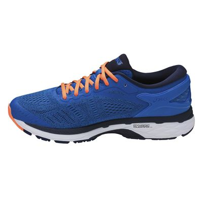 Asics Gel-Kayano 24 Mens Running Shoes - Blue - Side