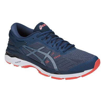 Asics Gel-Kayano 24 Mens Running Shoes SS18 - Blue - Angle