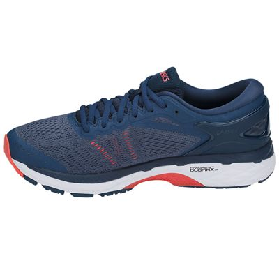 Asics Gel-Kayano 24 Mens Running Shoes SS18 - Blue - Side