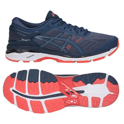 Asics Gel-Kayano 24 Mens Running Shoes SS18 - Blue