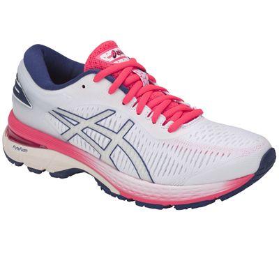 Asics Gel-Kayano 25 Ladies Running Shoes - Angled