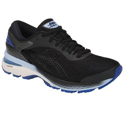 Asics Gel-Kayano 25 Ladies Running Shoes -  Black - Angled
