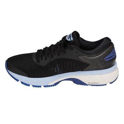 Asics Gel-Kayano 25 Ladies Running Shoes -  Black - Side