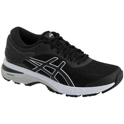 Asics Gel-Kayano 25 Ladies Running Shoes SS19 - Black - Angled1