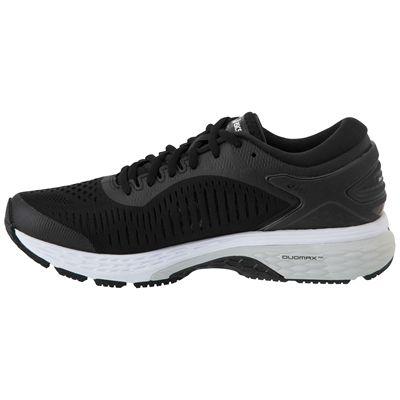Asics Gel-Kayano 25 Ladies Running Shoes SS19 - Black - Angled2