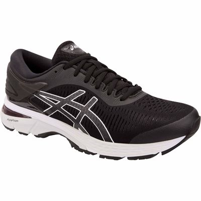 Asics Gel-Kayano 25 Mens Running Shoes SS19 - Black - Angled2