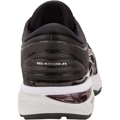 Asics Gel-Kayano 25 Mens Running Shoes SS19 - Black - Back