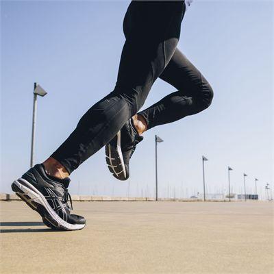 Asics Gel-Kayano 25 Mens Running Shoes SS19 - Black - Lifestyle1
