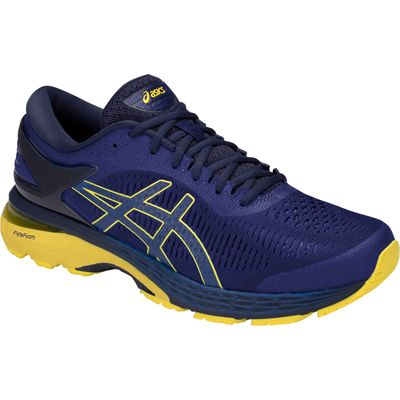 Asics Gel-Kayano 25 Mens Running Shoes SS19 - Blue - Angled2
