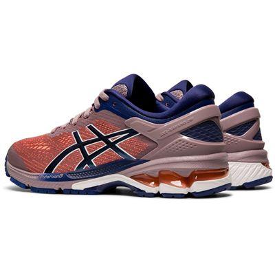 Asics Gel-Kayano 26 Ladies Running Shoes - Angled
