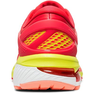 Asics Gel-Kayano 26 Ladies Running Shoes - Pink - Back