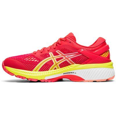 Asics Gel-Kayano 26 Ladies Running Shoes - Pink - Side