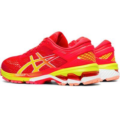 Asics Gel-Kayano 26 Ladies Running Shoes - Pink - Slant