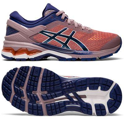 online store 0dfe4 ea600 Asics Gel-Kayano 26 Ladies Running Shoes