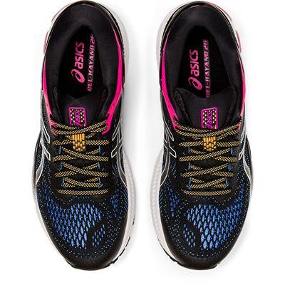 Asics Gel-Kayano 26 Ladies Running Shoes SS20 - Black - Above
