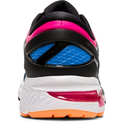 Asics Gel-Kayano 26 Ladies Running Shoes SS20 - Black - Back