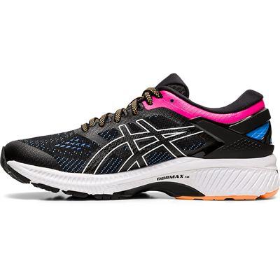 Asics Gel-Kayano 26 Ladies Running Shoes SS20 - Black - Side