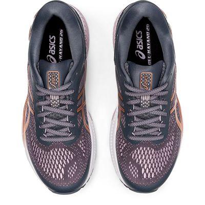 Asics Gel-Kayano 26 Ladies Running Shoes SS20 - Grey - Above
