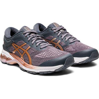 Asics Gel-Kayano 26 Ladies Running Shoes SS20 - Grey - Front