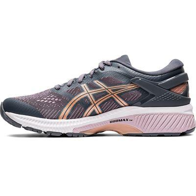 Asics Gel-Kayano 26 Ladies Running Shoes SS20 - Grey - Side