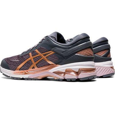 Asics Gel-Kayano 26 Ladies Running Shoes SS20 - Grey - Slant