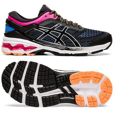 Asics Gel-Kayano 26 Ladies Running Shoes SS2 - Black