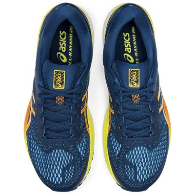 Asics Gel-Kayano 26 Mens Running Shoes - Blue - Above