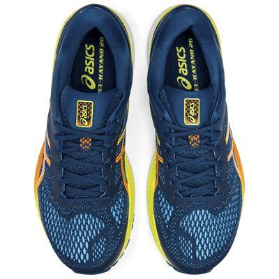 Asics Gel-Kayano 26 Mens Running Shoes - Blue - Above