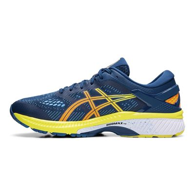 Asics Gel-Kayano 26 Mens Running Shoes - Blue - Side