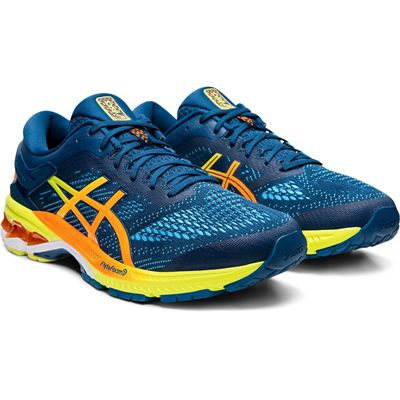 Asics Gel-Kayano 26 Mens Running Shoes - Blue - Slant