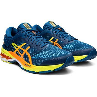 Asics Gel-Kayano 26 Mens Running Shoes - Blue - Slant