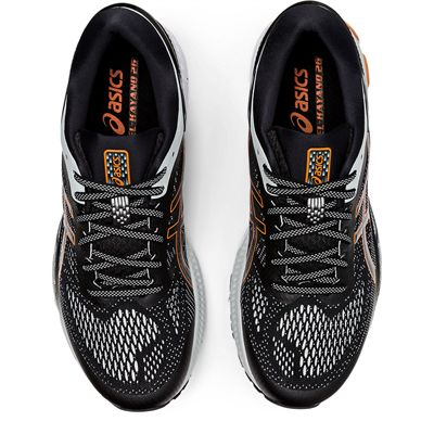 Asics Gel-Kayano 26 Mens Running Shoes SS20 - Black - Above