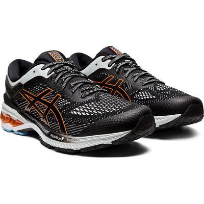 Asics Gel-Kayano 26 Mens Running Shoes SS20 - Black - Angled2