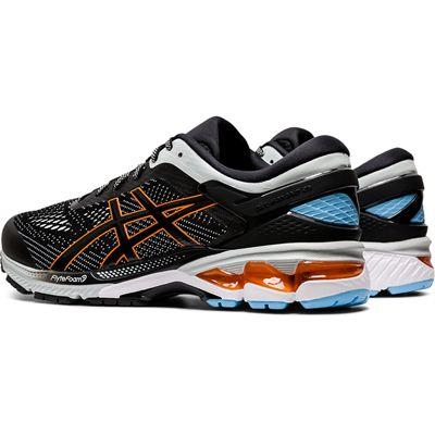 Asics Gel-Kayano 26 Mens Running Shoes SS20 - Black - Angled