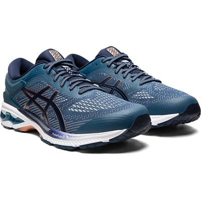 Asics Gel-Kayano 26 Mens Running Shoes SS20 - Blue - Angled2