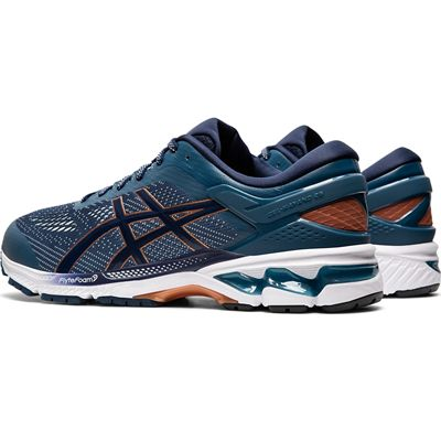 Asics Gel-Kayano 26 Mens Running Shoes SS20 - Blue - Angled