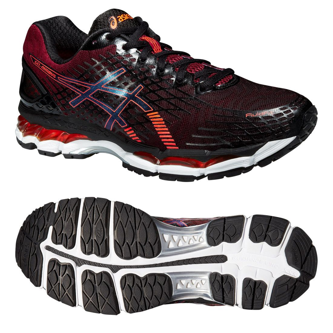 Asics Gel-Nimbus 17 Mens Running Shoes AW15 - Sweatband.com