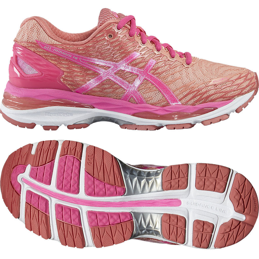 ASICS Men's Gel Nimbus 18 Running Shoe $72 @ amazon