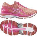 Asics Gel-Nimbus 18 Ladies Running Shoes-Pink/Orange