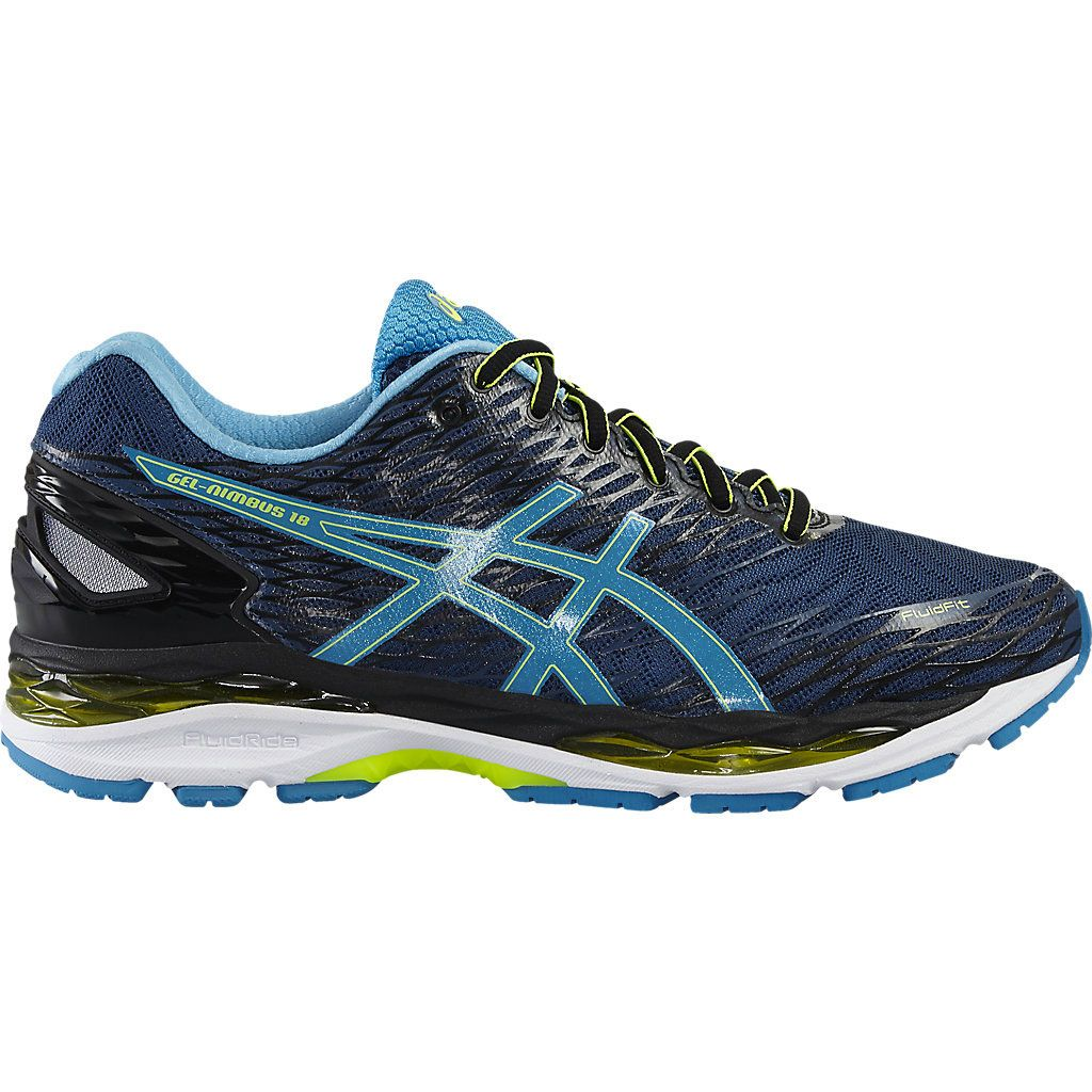 asics gel nimbus 18 mens running shoes sweatband