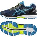 Asics Gel-Nimbus 18 Mens Running Shoes-Navy/Blue/Green
