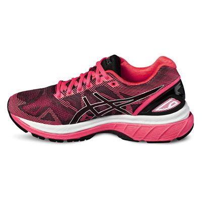 Asics Gel-Nimbus 19 Ladies Running Shoes-black - Left Side