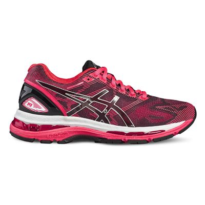 Asics Gel-Nimbus 19 Ladies Running Shoes-black - Right Side
