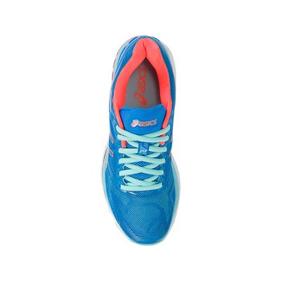 Asics Gel-Nimbus 19 Ladies Running Shoes-blue-top