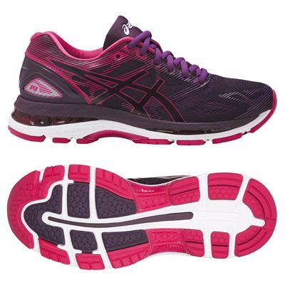 Asics Gel-Nimbus 19 Ladies Running Shoes AW17 - Black